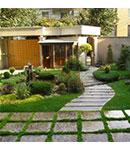 در طراحی محوطه باغ و حیاط از این ۶ عنصر غافل نشوید!