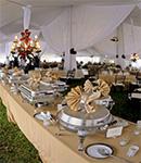 میز شام در تشریفات مجالس عروسی