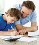 تکالیف مدرسه کودکان، نقش پدر و مادر