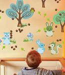 زیباترین استیکرهای دیواری برای اتاق کودک