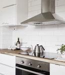 طراحی دیوار پشت کابینت در آشپزخانه