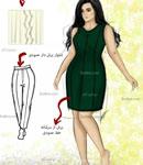 چه لباسی برای اندام گلابی شکل مناسب است؟