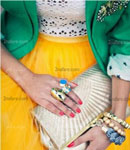 بهترین ترکیب ست لباس ها با رنگ سبز